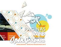 Open. Graphic  / Paginas Web