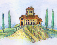 Travel Sketches | Italy