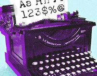 L.C. Smith Modern Font