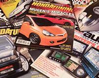 """""""Honda Tuning"""" and """"Car Audio & Electronics"""" Magazines"""