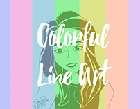 Colorful Line Art Edition