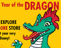 The Explore & More Store Year of the Dragon Theme