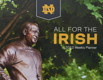 All for the Irish - 2012 Weekly Planner