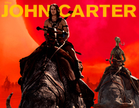 disney's john carter web banner ads