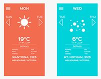 Simplistic Weather App