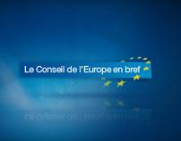 Conseil de l'Europe en bref