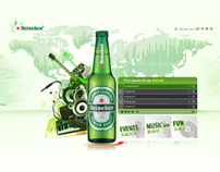 Heineken Music Website