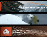 Nike ACG Sweetspots Banner campaign