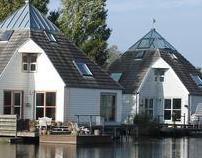 Vierkante Watervilla's