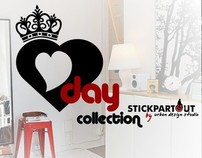 V Day Collection - wall decals