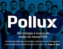 Proposta de Projeto Gráfico Site Pollux