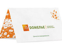 "Naming & identity for supermarket ""Domelie"""
