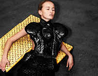 A Fashionshoot with design of Maartje Dijkstra