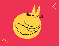 OFFICIAL GARAGE CAT STICKER PACK #1