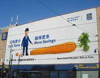 Wall mural for Royal Bank of Canada