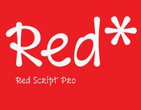 Red Script Pro Typeface