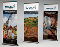 Amara Mining Exhibition Graphics