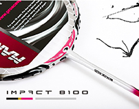 ProAce Badminton Racket Design