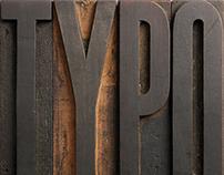 Poster Typo