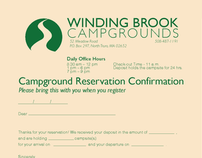 Winding Brook Campgrounds Forms