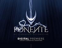Ponente Digital Premiere Advertising Concept