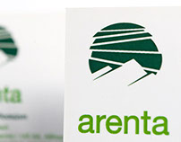 Arenta Trading Ltd. Logo and Corporate Identity design