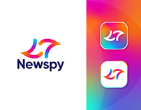 Newspy Brand Identity Design