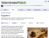Warminster Patch Food Review: Augusto's 12.16.10