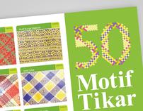 Brosur 50 Motif Tikar Natuna, 2010