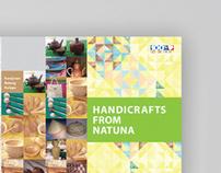 Brosur Handycrafts From Natuna, 2011