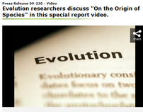 "(NSF) Researchers Discuss ""On the Origin of Species"""
