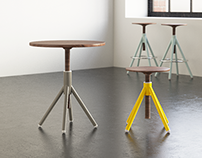 Coordination Thread Family Stool