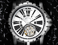 Roger Dubuis - Site Pitch Redesign