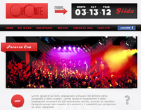 OUTONITE - Website project