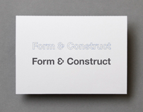 Form & Construct