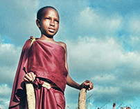living with the maasai.