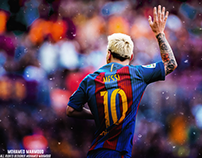 New Edit and Retouch for Lionel Messi