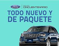 Ford Todo Nuevo y de Paquete / Ad Campaign