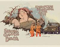Siberian giantess Dunya