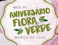 Flora Verde - Mês de Aniversário