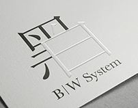 B|W SYSTEM BRAND IDENTITY