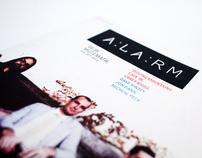 Alarm Magazine Rebrand