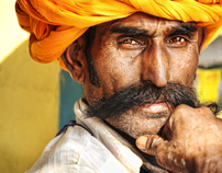 portraits of india.