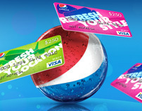 Pepsi Hit Refresh Art direction & Design