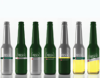 Reina Fresca Beer packaging