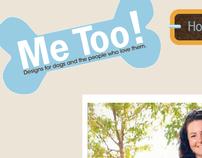 Me Too! Website Re-design