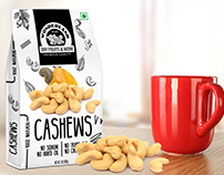 Creative Packaging Design of Wonderland Premium Cashews