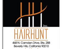 Hair Hunt Business Cards