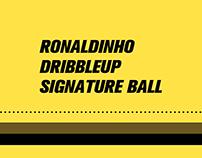 Ronaldinho x DribbleUp Signature Ball