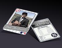 Faculty Member Baseball Card